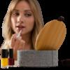 Joyero Organizador de Bambú con Espejo